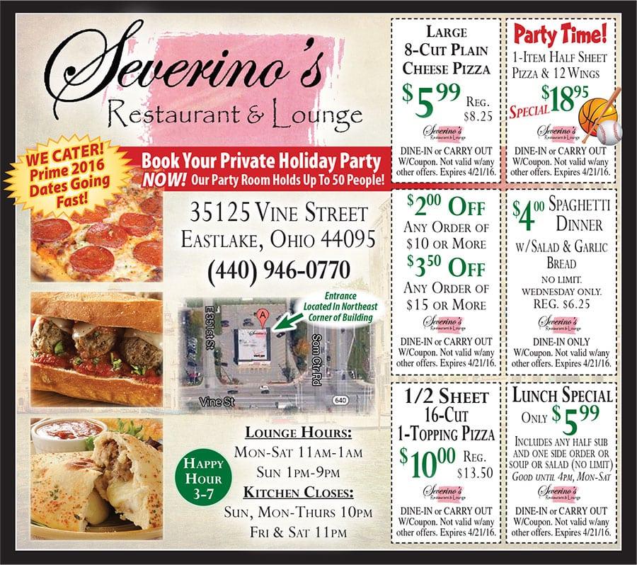 Web restaurant coupons